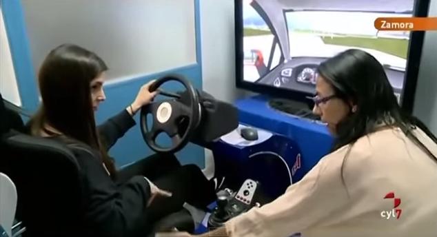 Aprender a conducir con un simulador de coche
